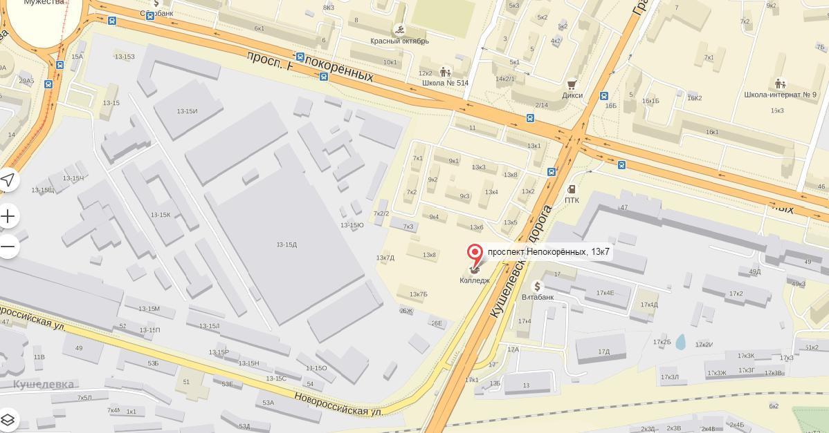 карта площадка 2